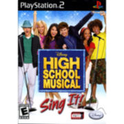 PS2™ Disney High School Musical Sing It!