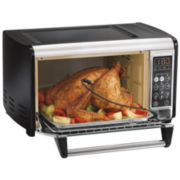 Hamilton Beach® Set & Forget Toaster Oven