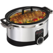 Hamilton Beach® 6-qt. Programmable Stovetop Slow Cooker