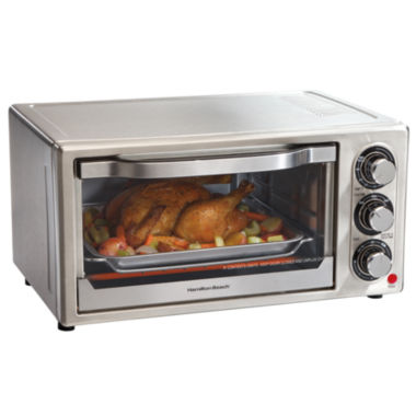 jcpenney.com | Hamilton Beach® 6-Slice Toaster Oven/Broiler