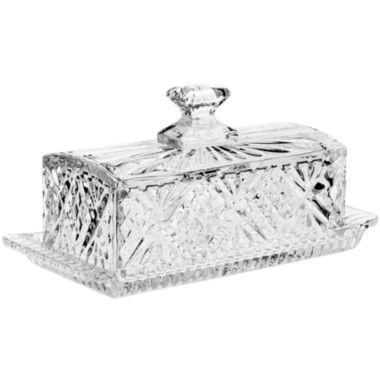 jcpenney.com | Dublin by Godinger Crystal Covered Butter Dish