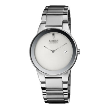jcpenney.com | Citizen® Eco-Drive® Axiom Mens Silver-Tone Watch  AU1060-51A