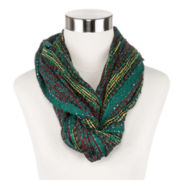 Multicolor Sequin Infinity Scarf