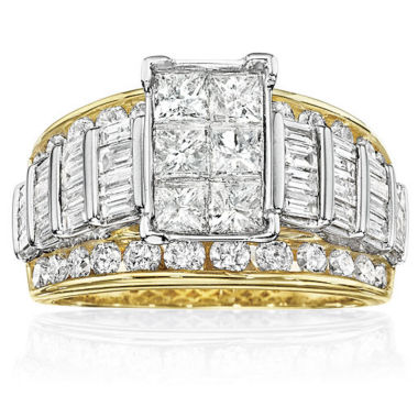 jcpenney.com | 3 CT. T.W. Diamond Multi-Stone Engagement Ring