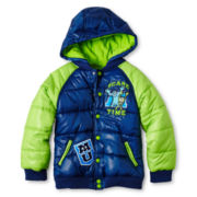 Disney Monster U Boys Puffy Jacket