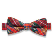 IZOD® Shanahan Plaid Bow Tie - Boys