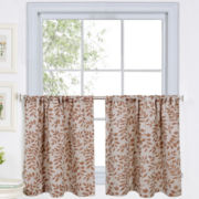 Serene 2-Pack Rod-Pocket Window Tiers