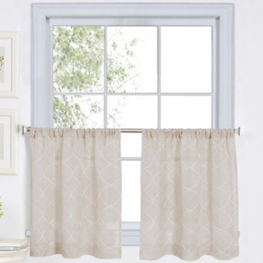 jcpenney.com | Taylor Rod-Pocket Window Tiers