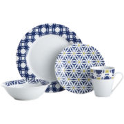 Oneida® Blue Capella 16-pc. Dinnerware Set