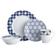 Oneida® Blue Capella 16-pc. Dinnerware Set