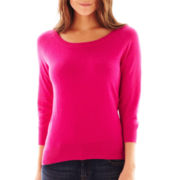 jcp™ 3/4-Sleeve Sweater - Talls