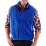 IZOD® Polar Fleece Vest–Big & Tall