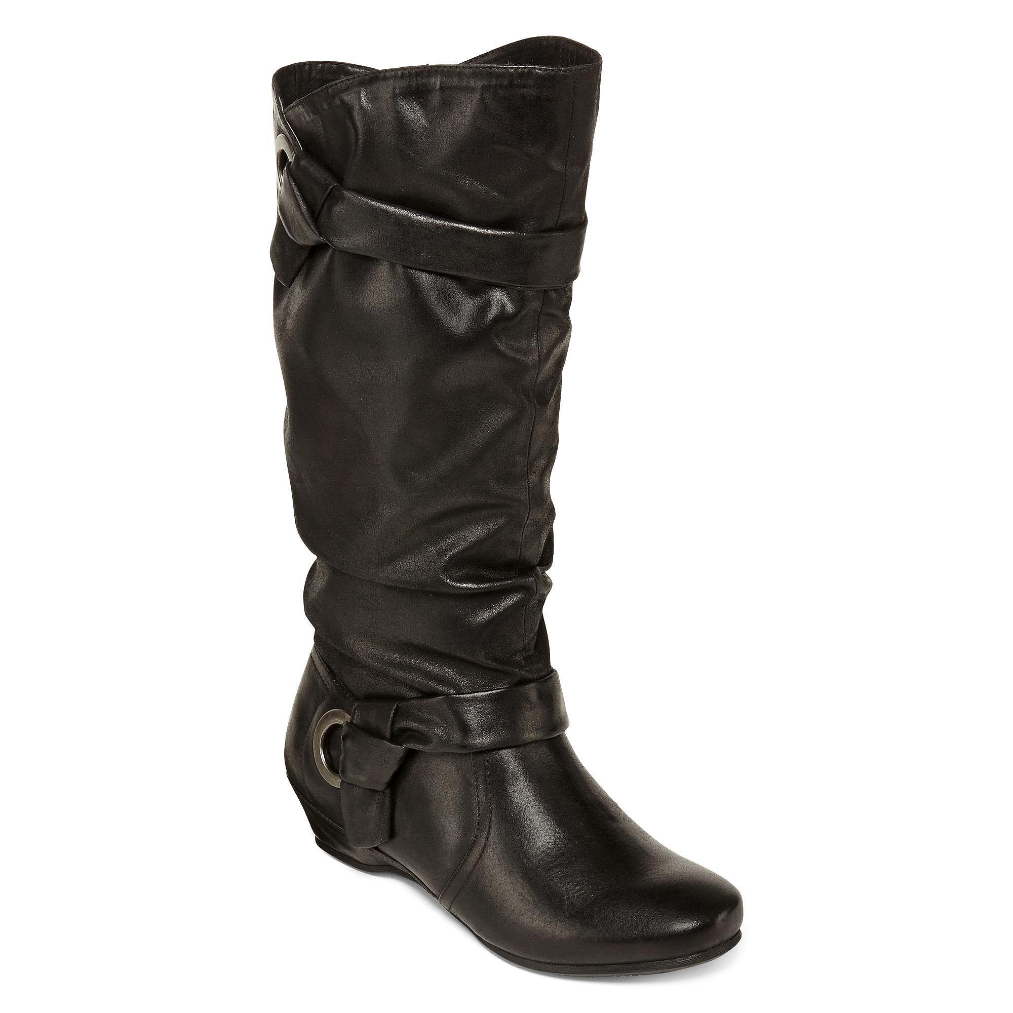 02c3e154d499 Yuu Seldom Slouch Boots