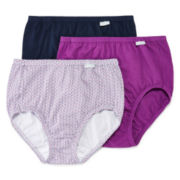 Jockey® Elance® 3-pk. Cotton Briefs - 1484