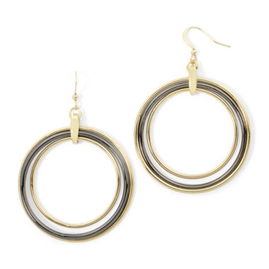 jcpenney.com | Bold Elements™ Orbital Circle Drop Earrings