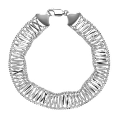 jcpenney.com |  Sterling Silver Woven X-Design Bracelet