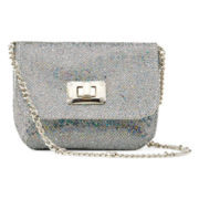 Capelli of New York Silver Sparkle Purse