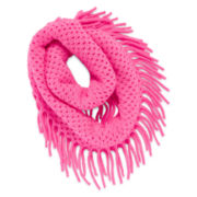 Capelli of New York Fringe Loop Scarf