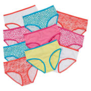 Total Girl® 10-pk. Animal Print Briefs - Girls 4-14