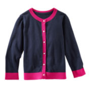 OshKosh B'gosh® Colorblock Cardigan - Toddler Girls 2t-5t