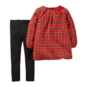 Carter's® Plaid Tunic and Leggings - Toddler Girls 2t-5t