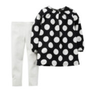 Carter's® Polka Dot Tunic and Leggings - Toddler Girls 2t-5t