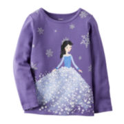 Carter's® Long-Sleeve Princess Tee - Toddler Girls 2t-5t