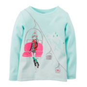 Carter's® Long-Sleeve Ski Lift Tee - Toddler Girls 2t-5t