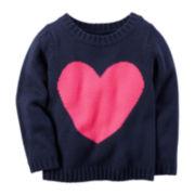 Carter's® Heart Sweater - Toddler Girls 2t-5t