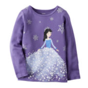 Carter's® Long-Sleeve Princess Tee - Preschool Girls 4-7
