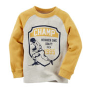 Carter's® Long-Sleeve Champ Thermal Tee - Toddler Boys 2t-5t