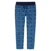 Arizona Printed Jeggings - Preschool Girls 4-6x