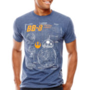 Star Wars: Force Awakens™ Short-Sleeve Astro Schematic T-Shirt