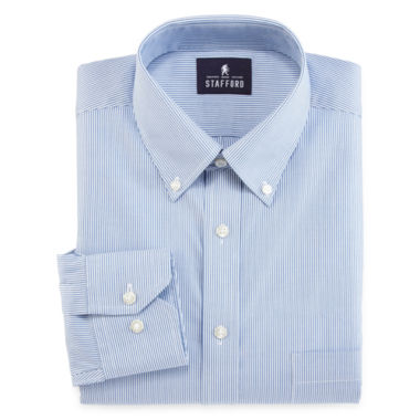 jcpenney.com | Stafford® Non-Iron Cotton Oxford Dress Shirt - Big & Tall