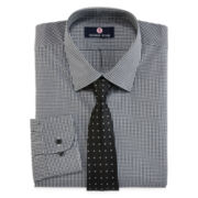 Thomas Stone Dress Shirt and Tie Set - Big & Tall