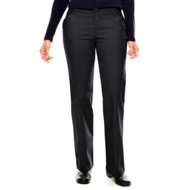 jcpenney.com | Dickies® Womens Relaxed-Fit Straight-Leg Stretch Twill Pants