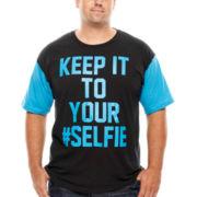 Selfie Short-Sleeve Graphic Tee - Big & Tall