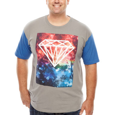 jcpenney.com | Galaxy Diamond Short-Sleeve Graphic Tee - Big & Tall