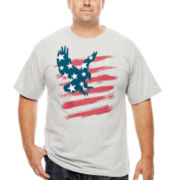 Eagle Stars Stripes Graphic Tee - Big & Tall