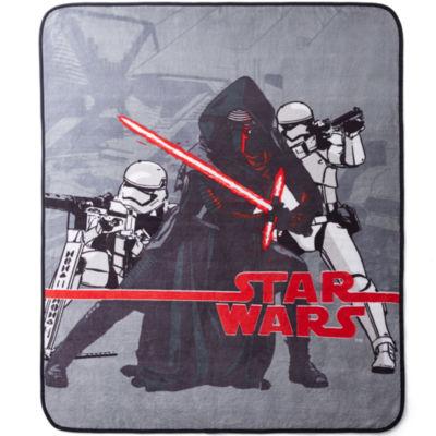 Star Wars® Episode 7: The Force Awakens Fleece Throw