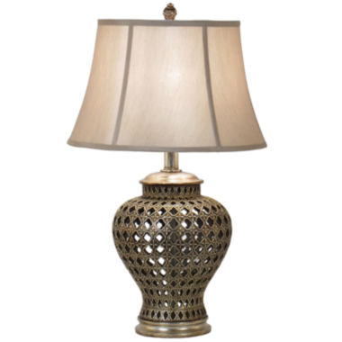 jcpenney.com | JCPenney Home™ Pierced Urn Table Lamp