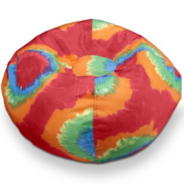 "jcpenney.com | 96"" Tie-Dye Bean Bag"