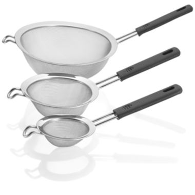 jcpenney.com | Polder® 3-pc. Mesh Handled Strainer Set