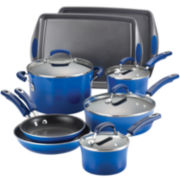 Rachael Ray® 12-pc. Hard-Enamel Cookware Set with Bakeware