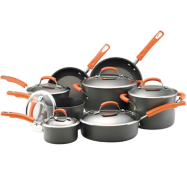 jcpenney.com | Rachael Ray® 14-pc. Hard-Anodized Nonstick Cookware Set