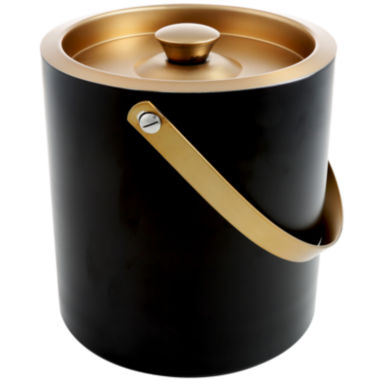 jcpenney.com | Cambridge® Dorian 3-qt. Brass Stainless Steel Ice Bucket