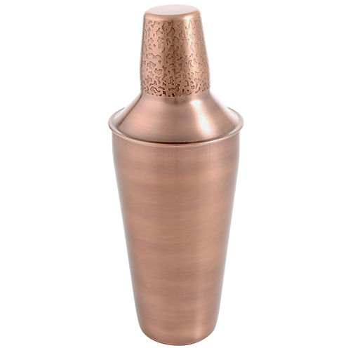 Cambridge® Copper-Etched 24-oz. Stainless Steel Cocktail Shaker