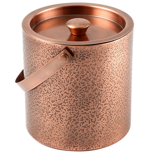 Cambridge® Copper-Etched Ice Bucket