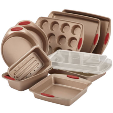 jcpenney.com | Rachael Ray® Cucina 10-pc. Nonstick Bakeware Set