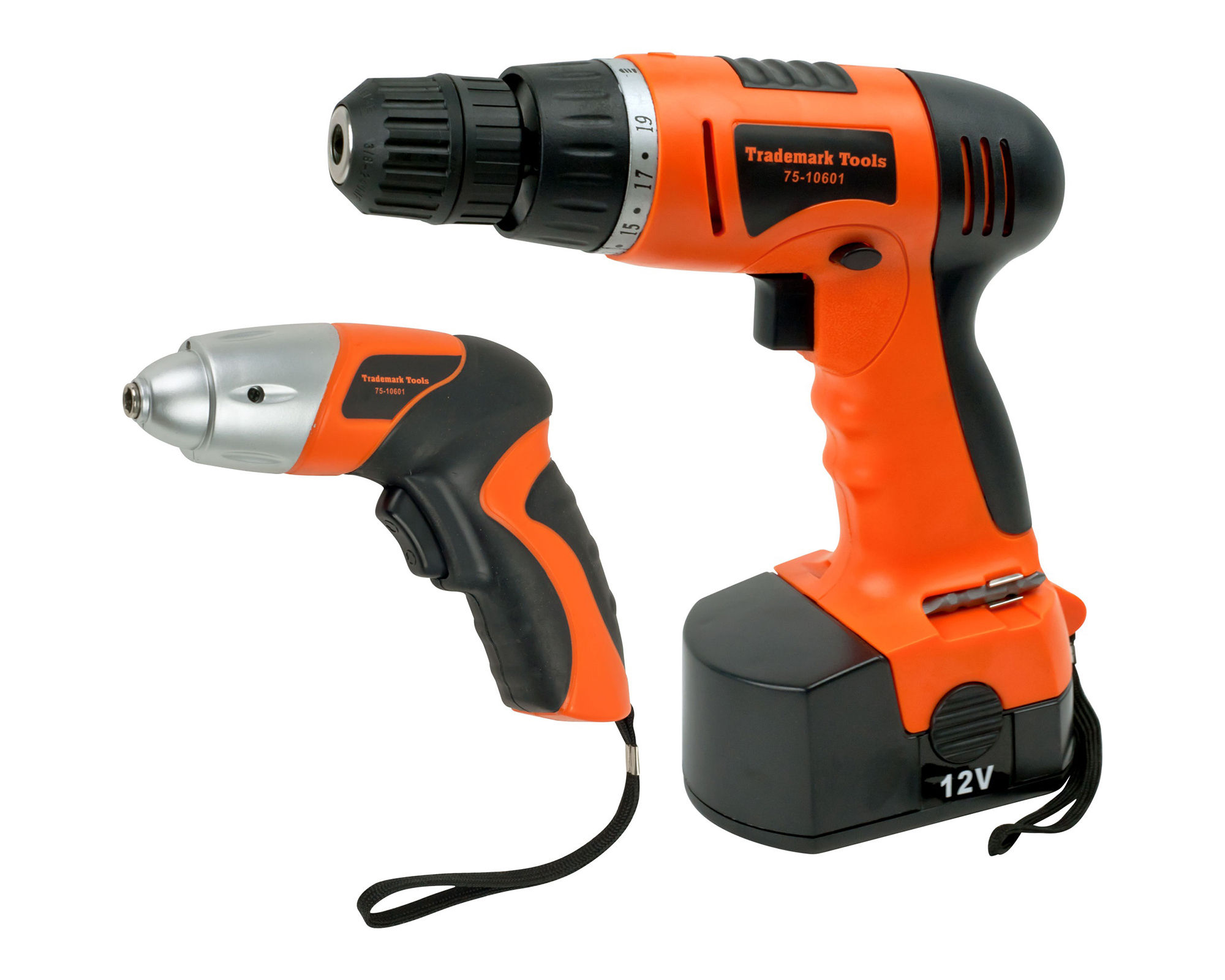 Stalwart 74-pc. Combo Cordless Drill and Driver Set